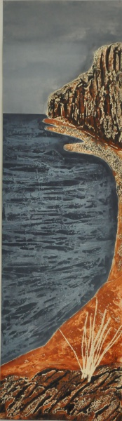 Playa | 23x80 | Xilografia, Collagraph