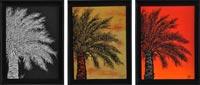 La palmera II | 62x25 | Técnica mixta sobre DM